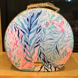 Lilly Pulitzer Carry On / Hat Box